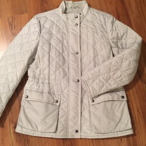 COACH ladies quilted jacket Sz LG